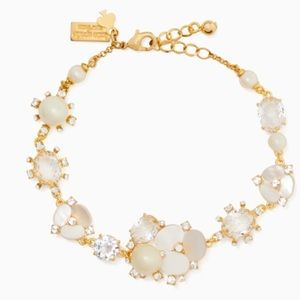 Kate Spade Disco Pansy Bracelet - NEW WITH TAGS